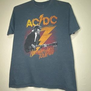 AC/DC Highway to Hell Tour 1979 2014 Release Sz L